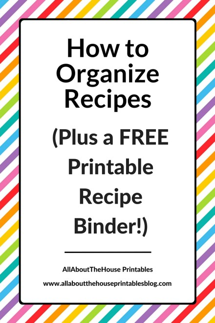 how to organize recipes plus a free printable recipe binder planner recipe card recipe sheet editable pdf cooking binder baking recipe divider meal planner