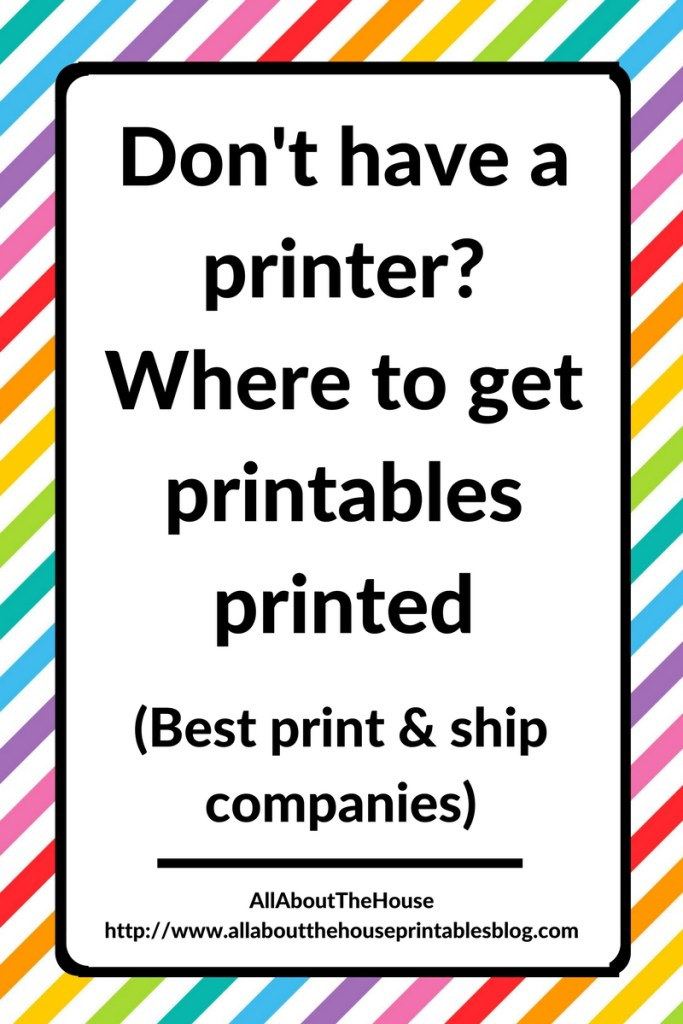 where to get printables printed don't have or own a printer print and ship website company diy notebook cost comparison home