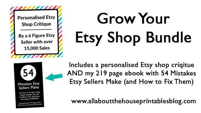 Grow your etsy shop ebooks for etsy sellers increase sales 6 figure etsy seller tool resource online business handmade creative market