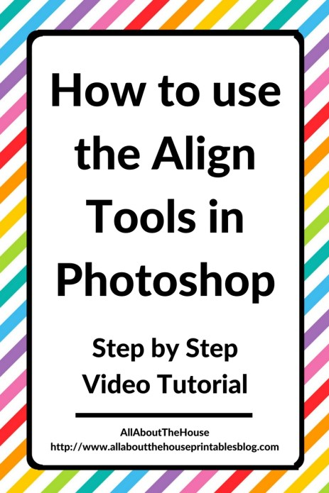 How to use the align tools in photoshop for beginners tutorial how to make printables centre text shape image clipart canvas