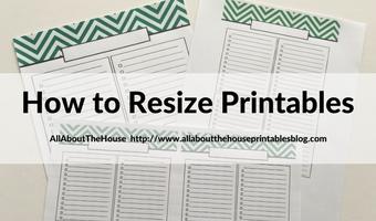 how to resize printables step by step tutorial video mambi erin condren plum paper kikki k a5 filofax
