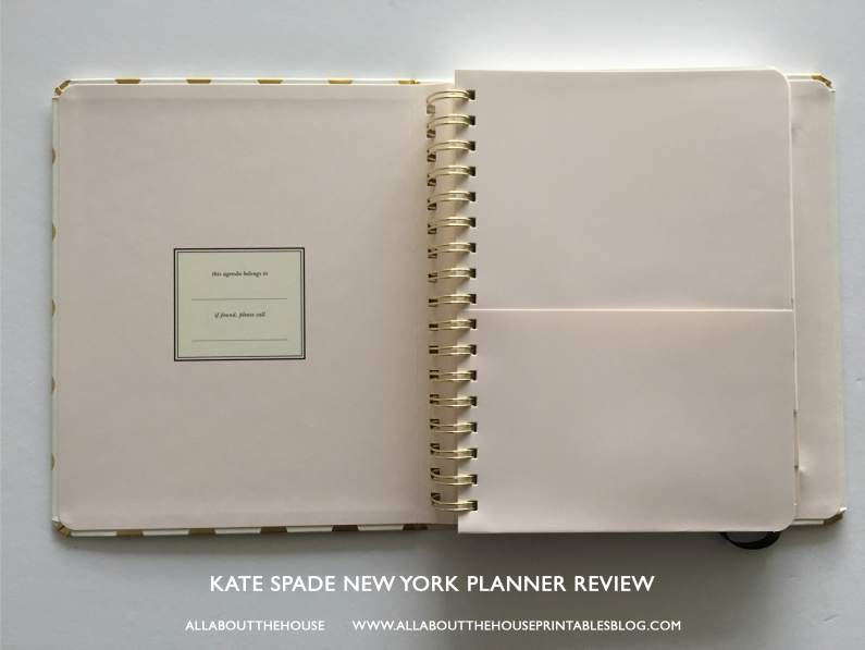 kate spade new york planner review best planner for 2017 agenda review a5 horizontal lined professional pocket folder-min
