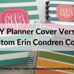 Custom Erin Condren Planner Cover versus DIY planner cover: which is better?