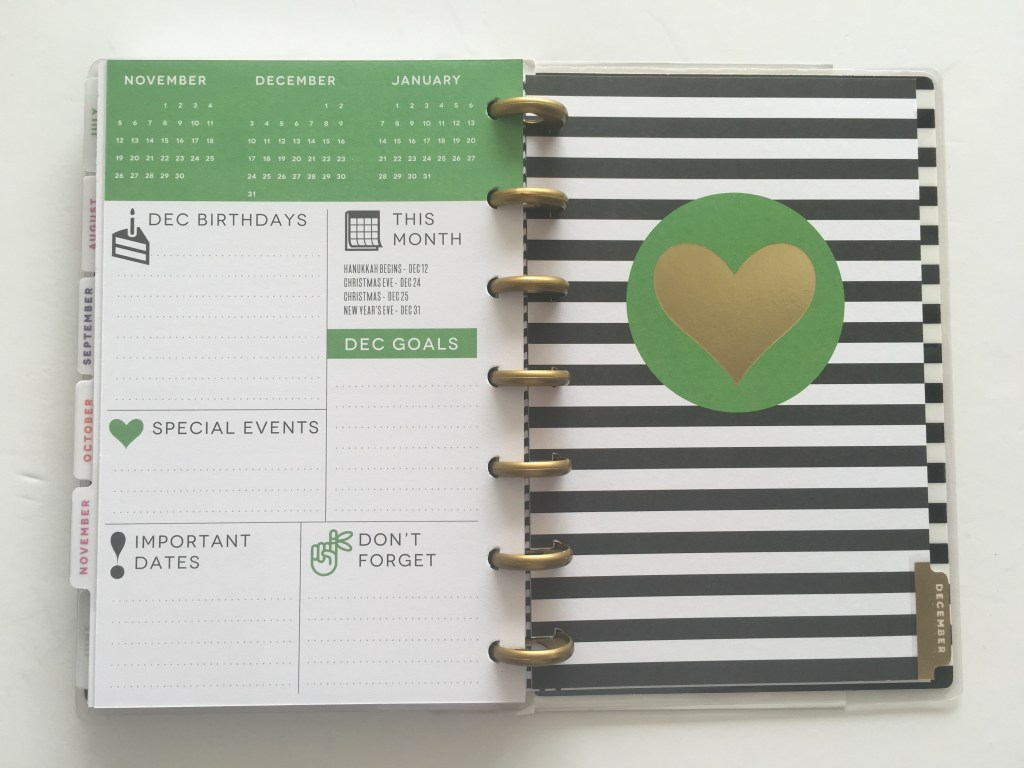 mini happy plannear pros and cons review should you buy it planner addict blog gold foil preppy small horizontal weekly planner discbound
