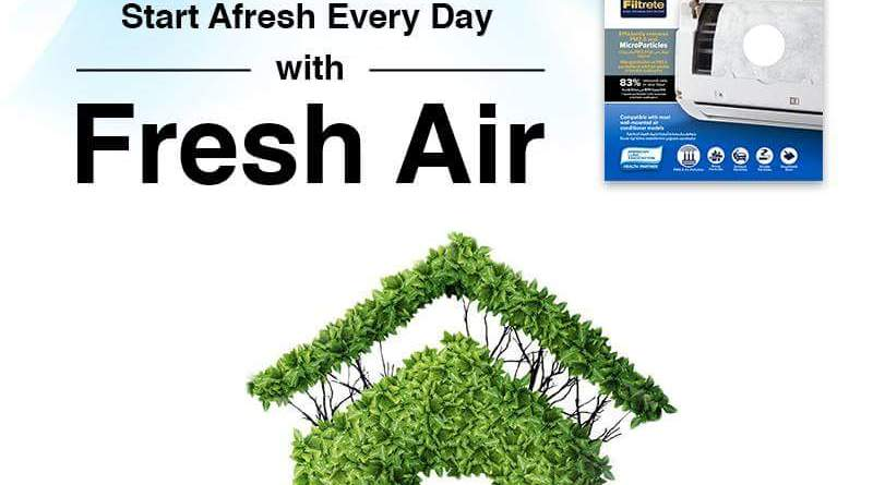 Weed out the Indoor Air Pollution with 3M™ Air Conditioner Filter
