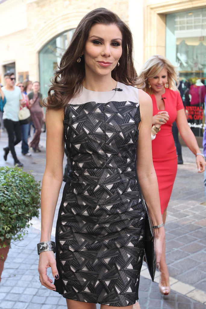 Photos Heather Dubrow With No Make Up Denies Having Had