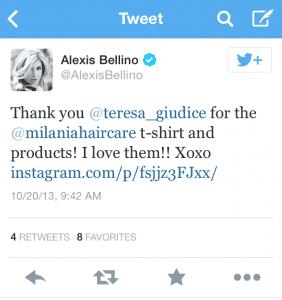 alexis tweet