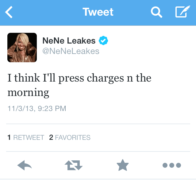 Nene tweet 2