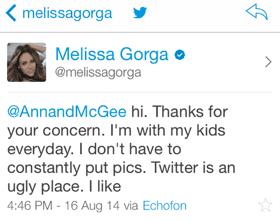 Melissa Gorga Kids 2014