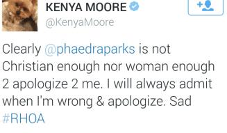 Twitter_KenyaMoore_Phaedra
