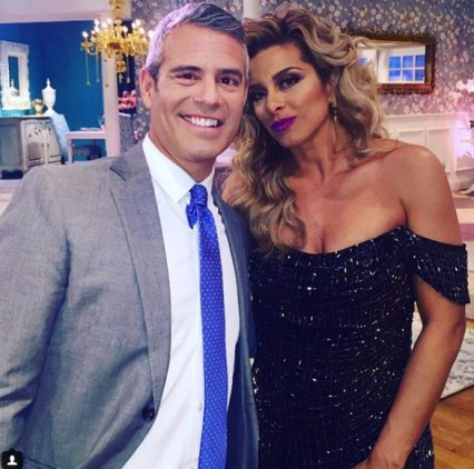 Image Source: Instagram-Robyn Dixon, Andy Cohen