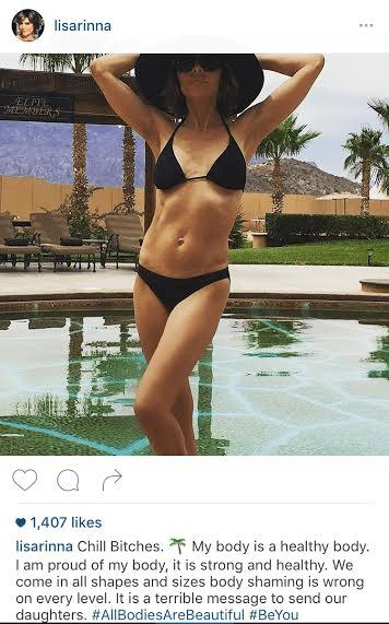 Recommend Lisa rinna bikini apologise