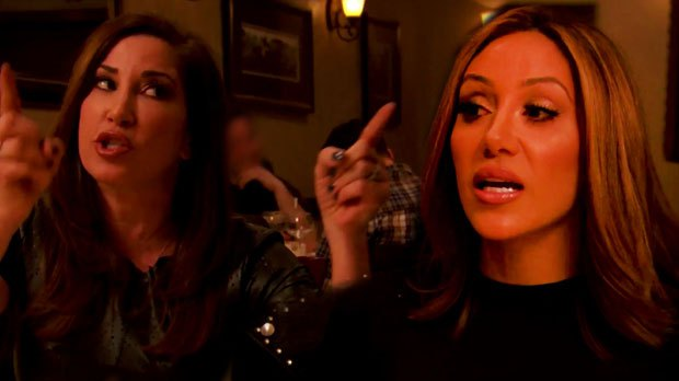 Jacqueline Laurita and Melissa Gorga