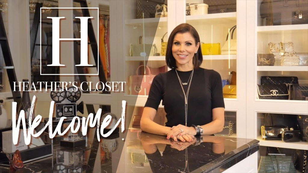 The Wait Is Over! Go Inside Heather Dubrow's Fabulous Closet!