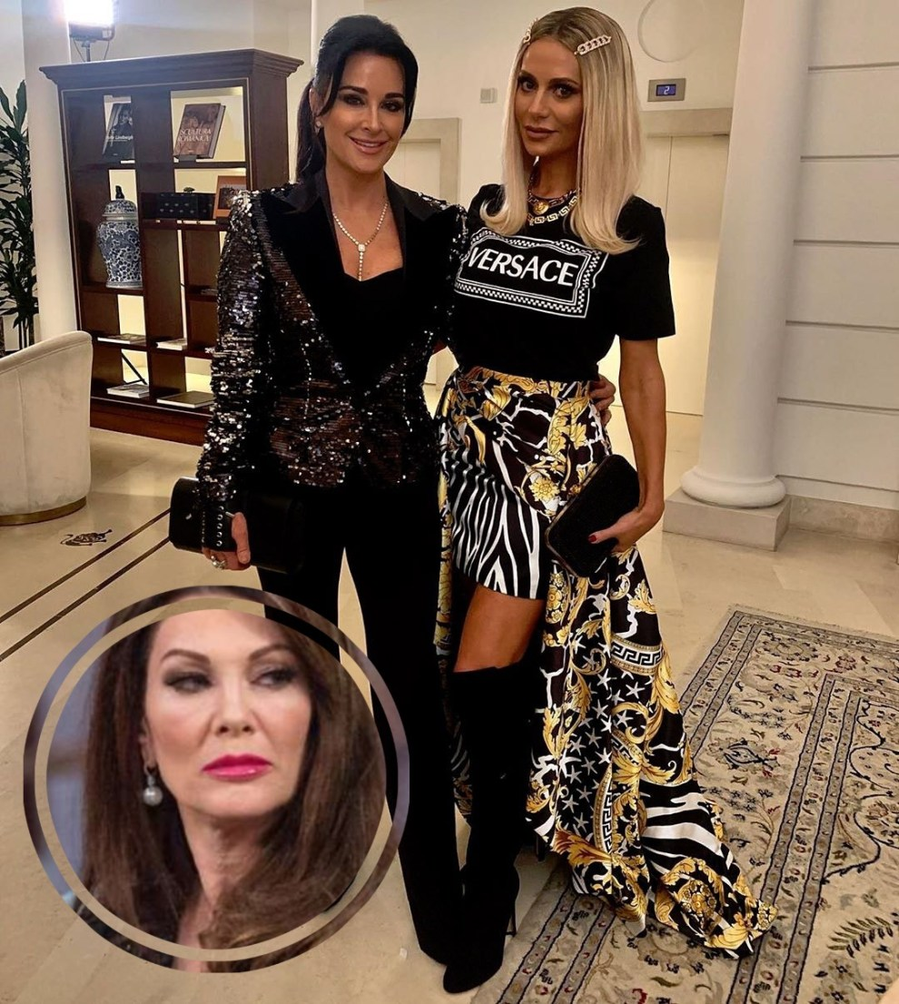 Kyle Richards Talks Rhobh Without Lisa Vanderpump Plus Responds To Dorit Kemsley Throwing Shade She Did Not Save My Fashion Show The Real Housewives News Dirt Gossip