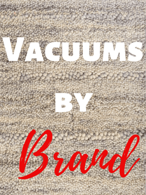 Vacuums by Brand