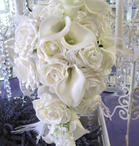 ivory with calla