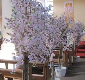 cherry blossom decor package