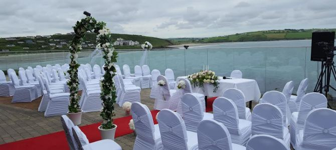 Wedding Decor at Dunmore House Hotel, Clonakilty, Cork