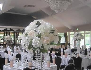 Floral Centrepieces at Lawless Hotel, Aughrim, Co. Wicklow