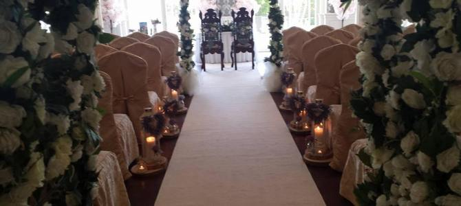 Ceremony Decor at The Stephouse Hotel