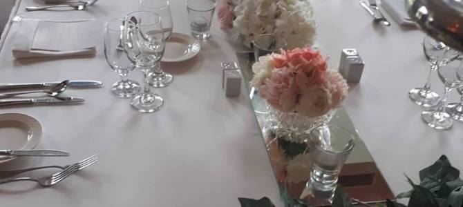 Venue Styling at Seafield Hotel, Gorey