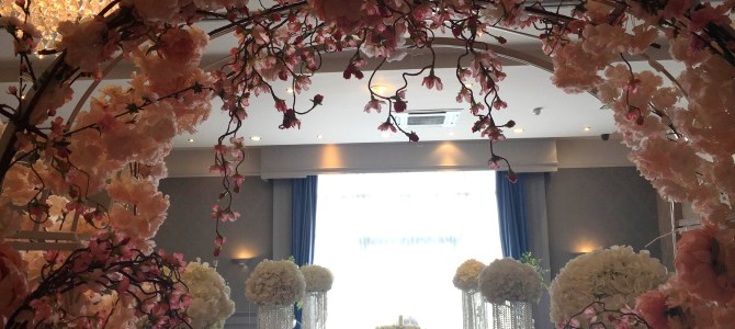Ceremony Decor and Venue Styling at the Arklow Bay Hotel