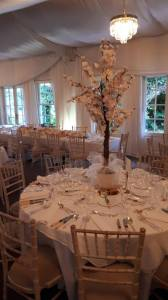 Ceremony Decor & Venue Styling at Rathsallagh