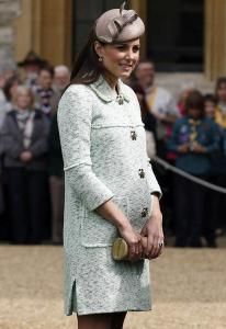 Duchess Kate and the baby bump/facebook