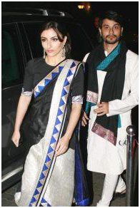 Soha Ali Khan with Kunal khemu/facebook
