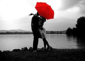 A couple on honeymoon