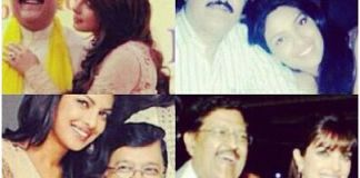 Priyanka with her dad