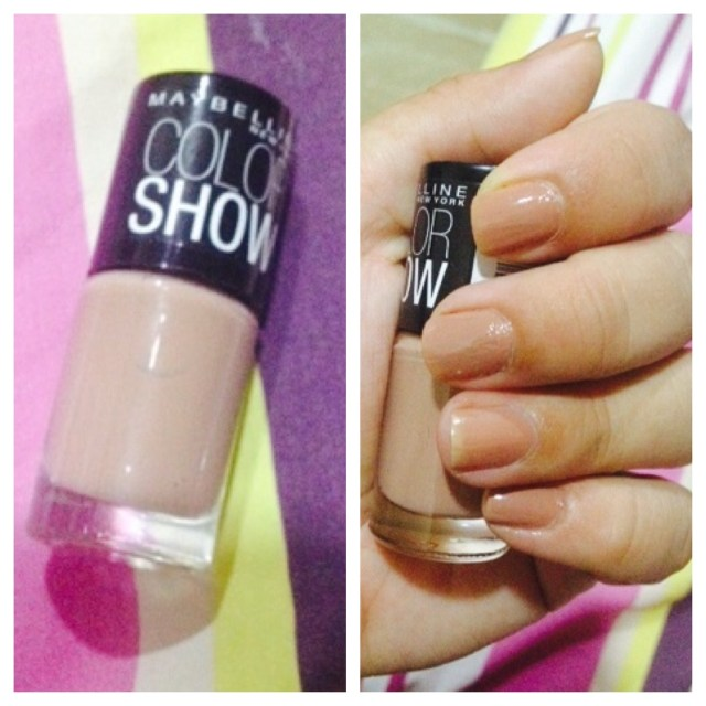 Maybelline Colour Show Nude Skin 015