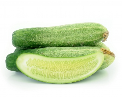 Cucumber is good for skin/freedigitalphotos