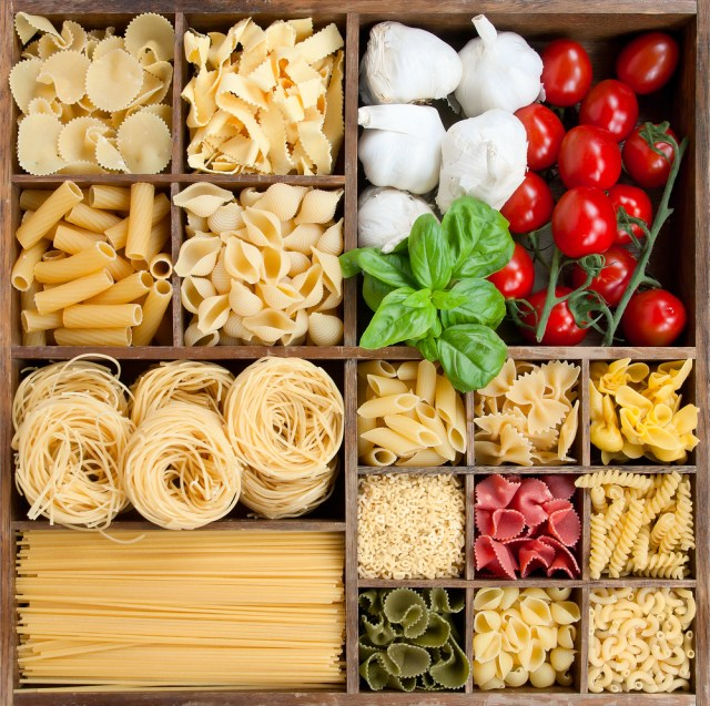 Range of Pastas at Foodhall's Italian Festival