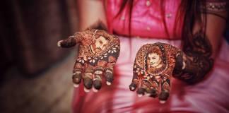 Divyanka Tripathi mehendi design