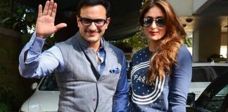 Kareena and Saif in London