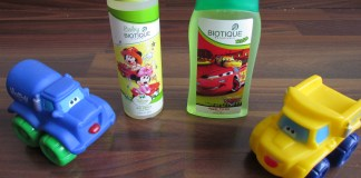 Biotique kids product range