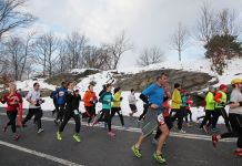 Train for a winter marathon