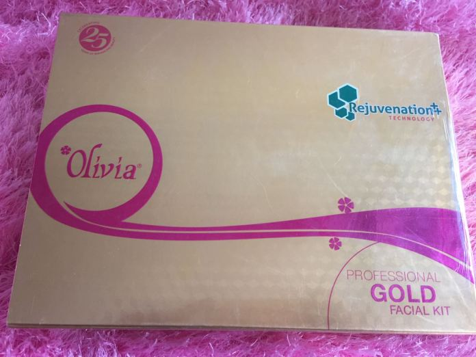 Olivia Professional Gold Facial Kit