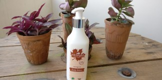 Aaranyaa Moringa Oil Body Lotion