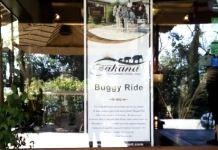 The warm welcome at Aahana!