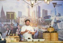 Chef Scott Pickett at the Visit Victoria event