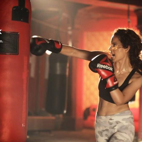 Kangana in new Reebok TVC