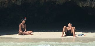 Actress Lisa Haydon and husband Dino Lalvani,