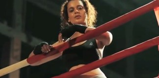 Kangana in the new advert by Reebok