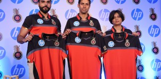 Nikhil Sosale with Ashish Nehra & Neelima Burra