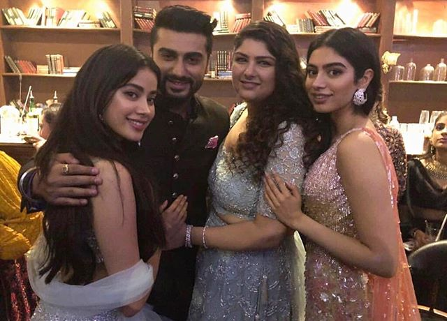 Arjun with family