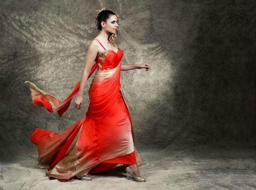Sexy sari