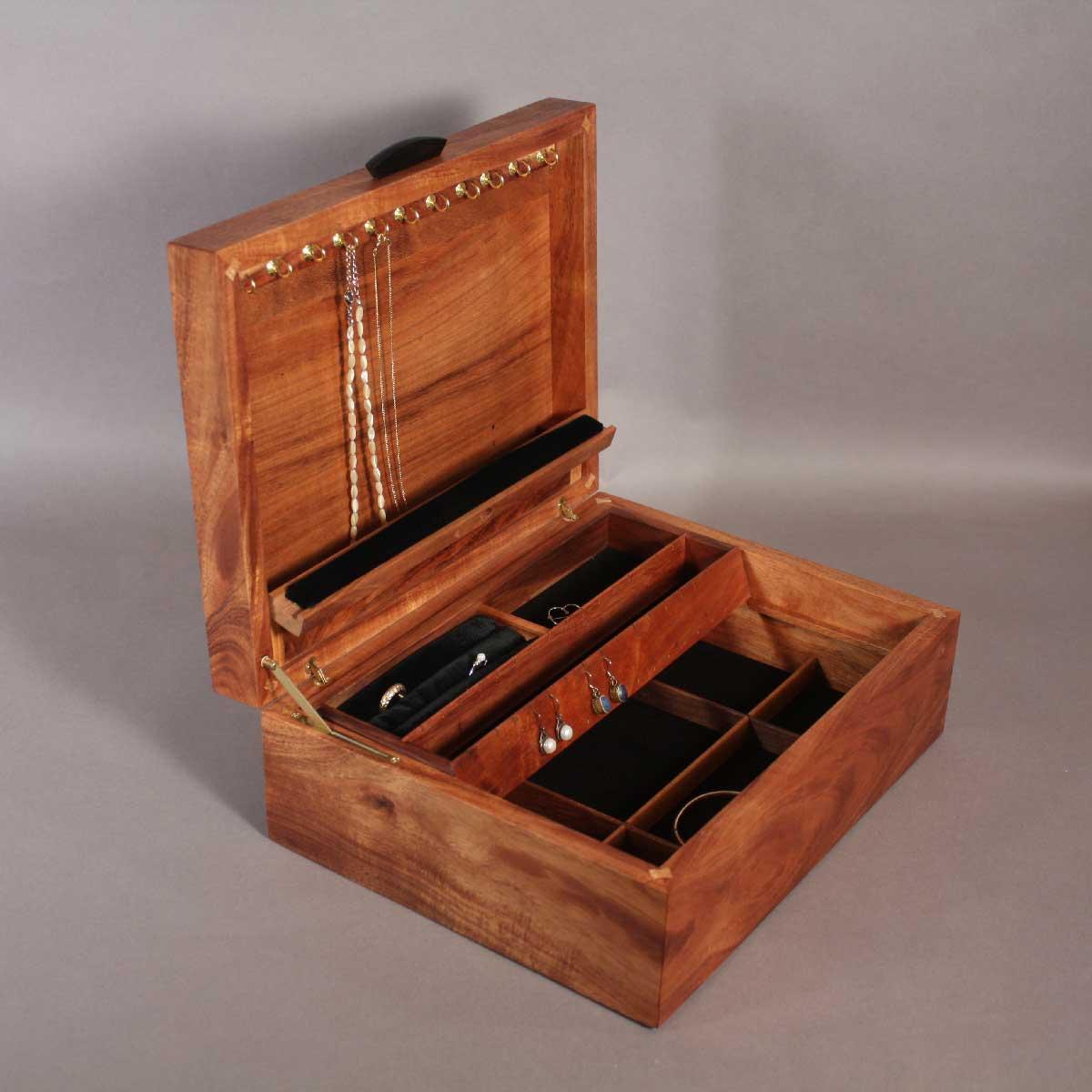 Koa Mango Jewelry Boxes